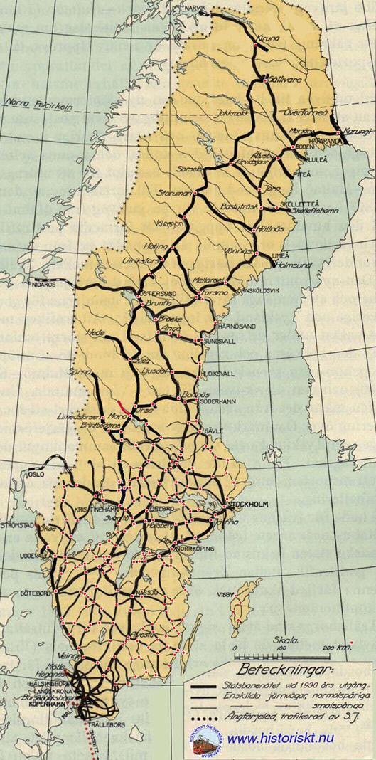 järnvägsnät sverige karta Järnvägar i sverige. Klicka på den del som du vill se mer av järnvägsnät sverige karta